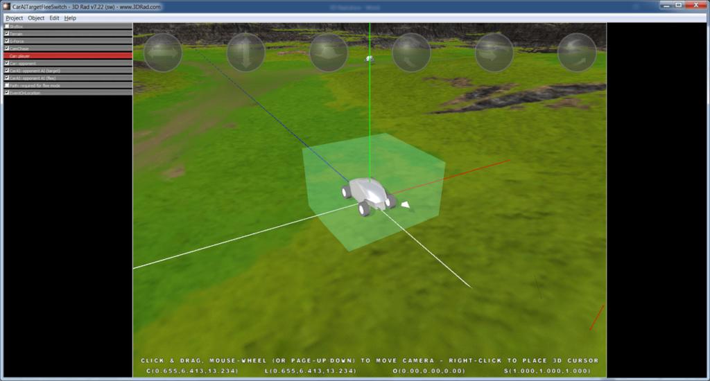 3D Rad Объект
