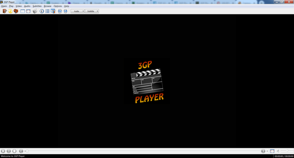 3GP Player Главное окно