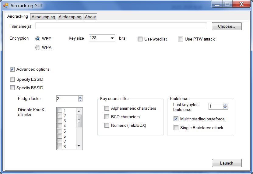 Aircrack Подбор пароля