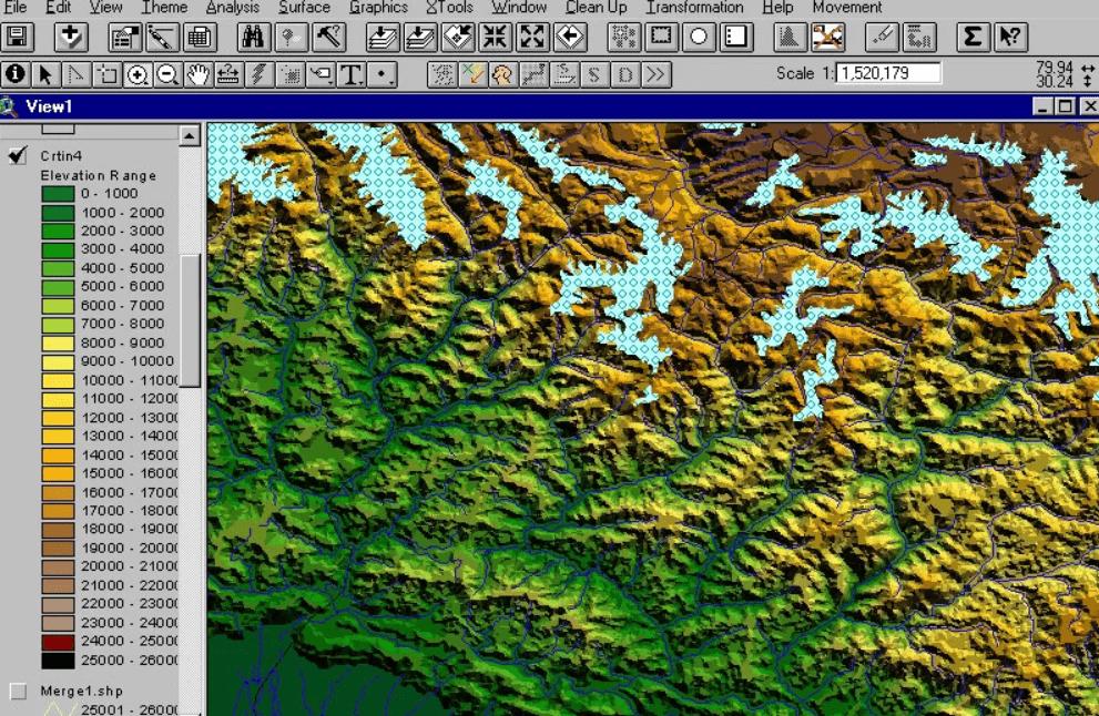 ArcView GIS Начало работы