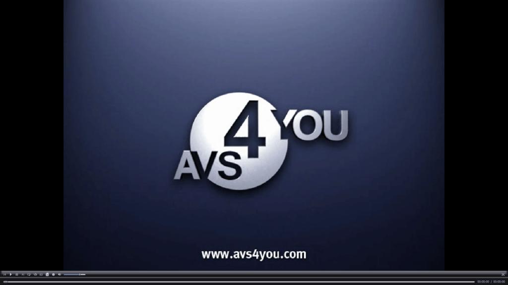 AVS Media Player Главная
