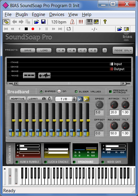 BIAS SoundSoap Настройка