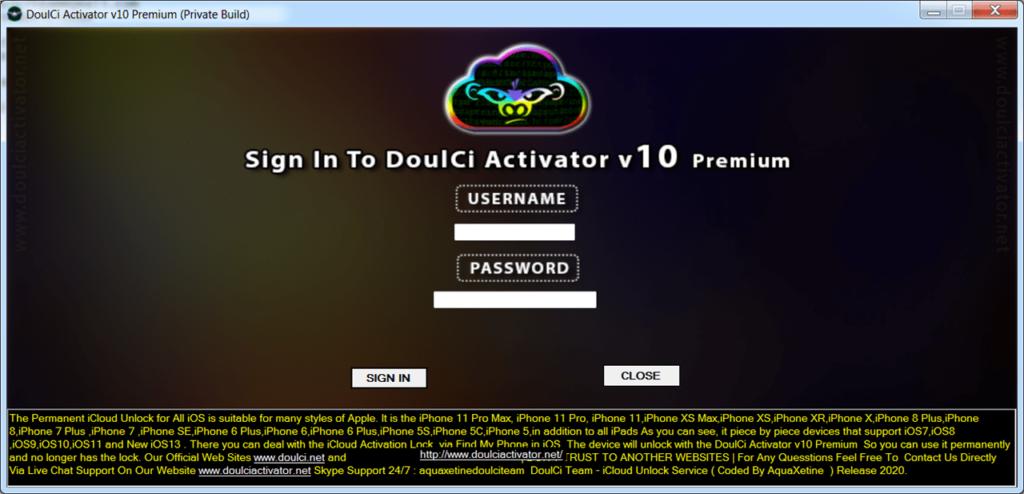 DoulCi Activator Вход