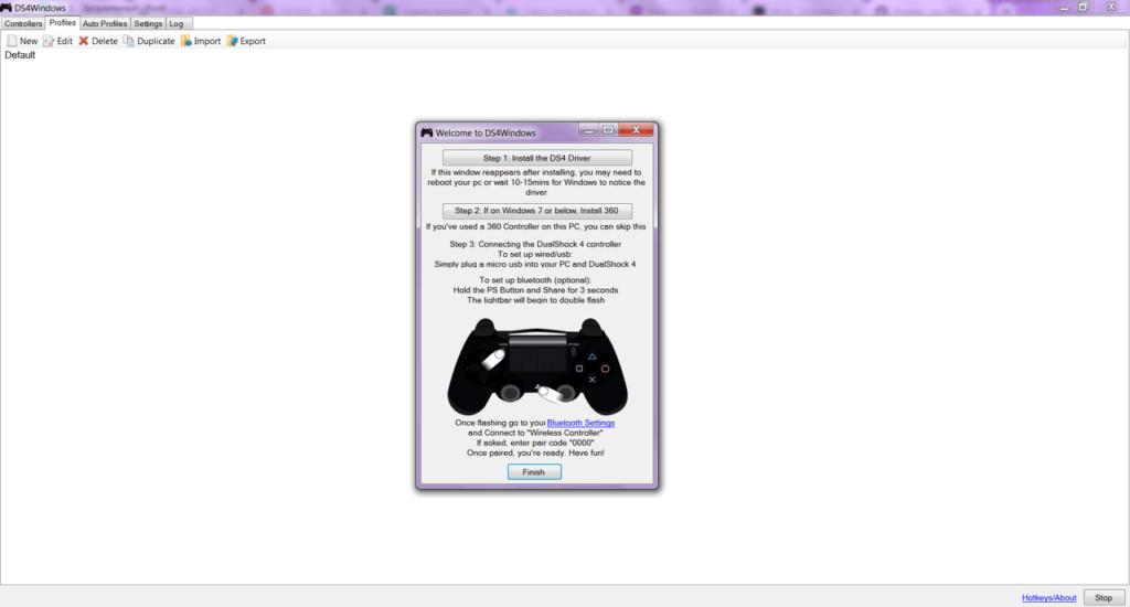 DS4Windows Главная
