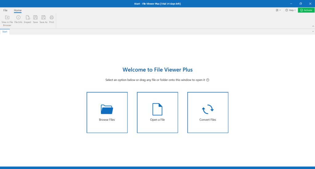 File Viewer Plus Главная