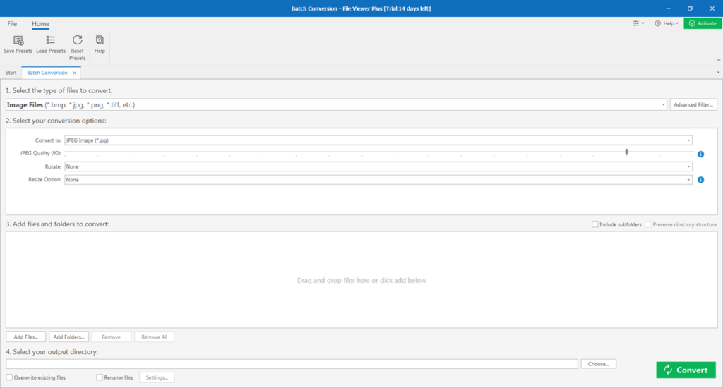 File Viewer Plus Конвертер