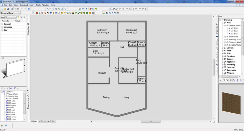 FloorPlan 3D План
