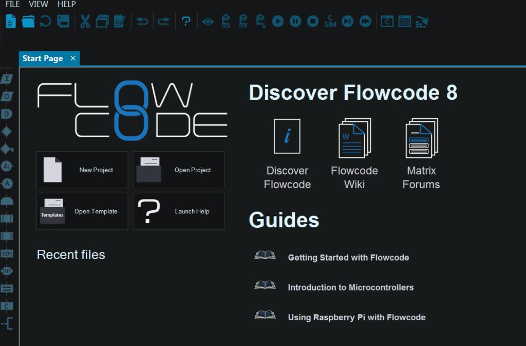 FlowCode Начало работы