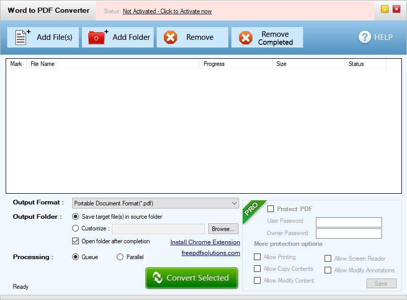 Free Word to PDF Converter Главная