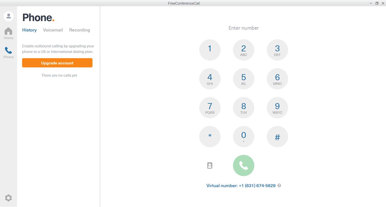 FreeConferenceCall Телефон
