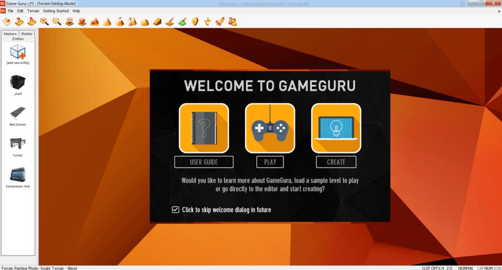 GameGuru Старт