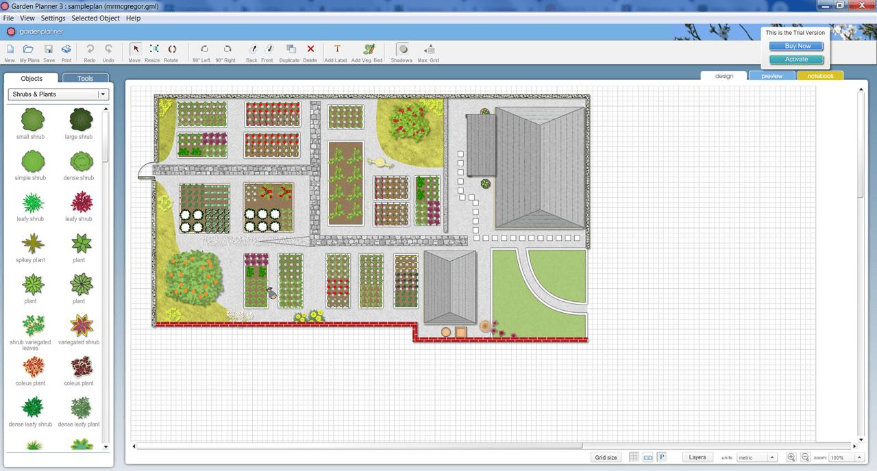 Garden Planner Проект