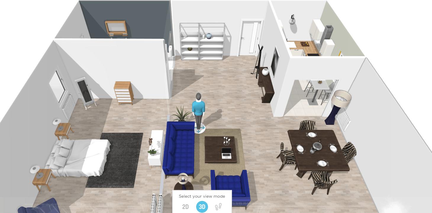 HomeByMe Создание модели