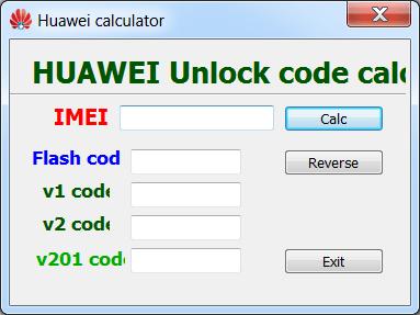 Huawei Unlock Code Calculator Коды