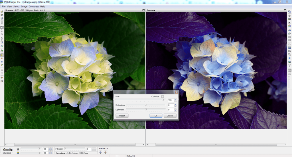 JPEG Imager Цвет