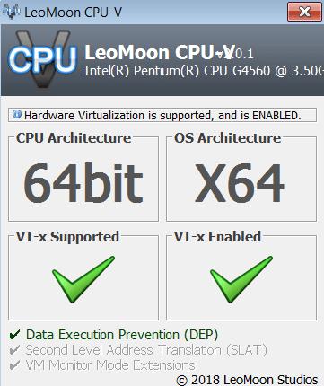 LeoMoon CPU V Главное меню