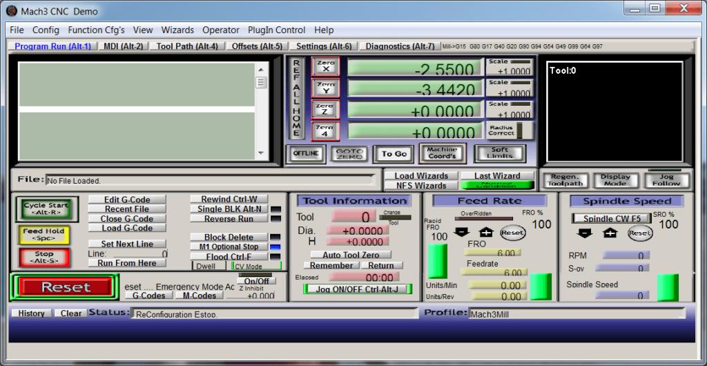 Mach3 Программа