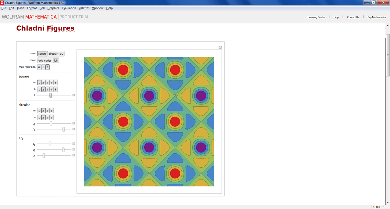 Mathematica Фигуры