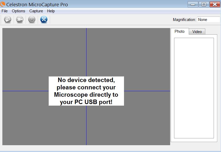 MicroCapture Начало работы