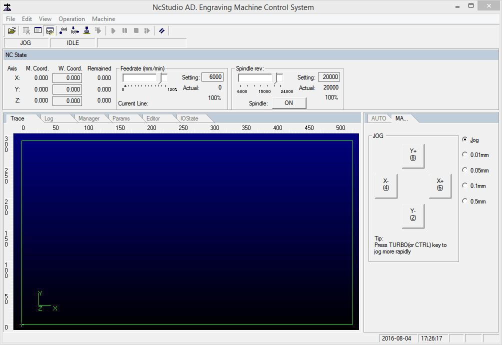 NCStudio Запуск