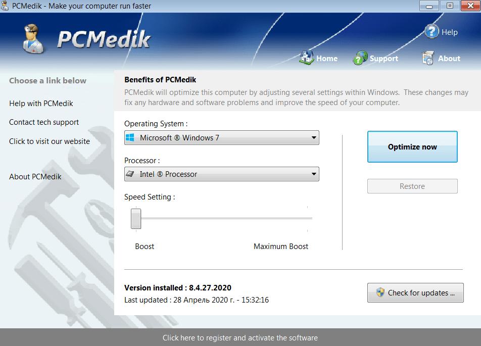 PCMedik Начало работы