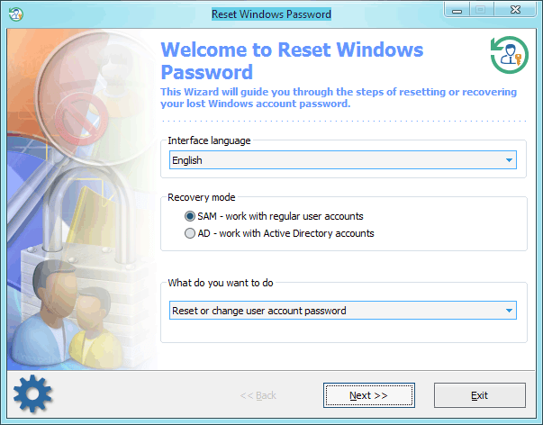 Reset Windows Password Главная
