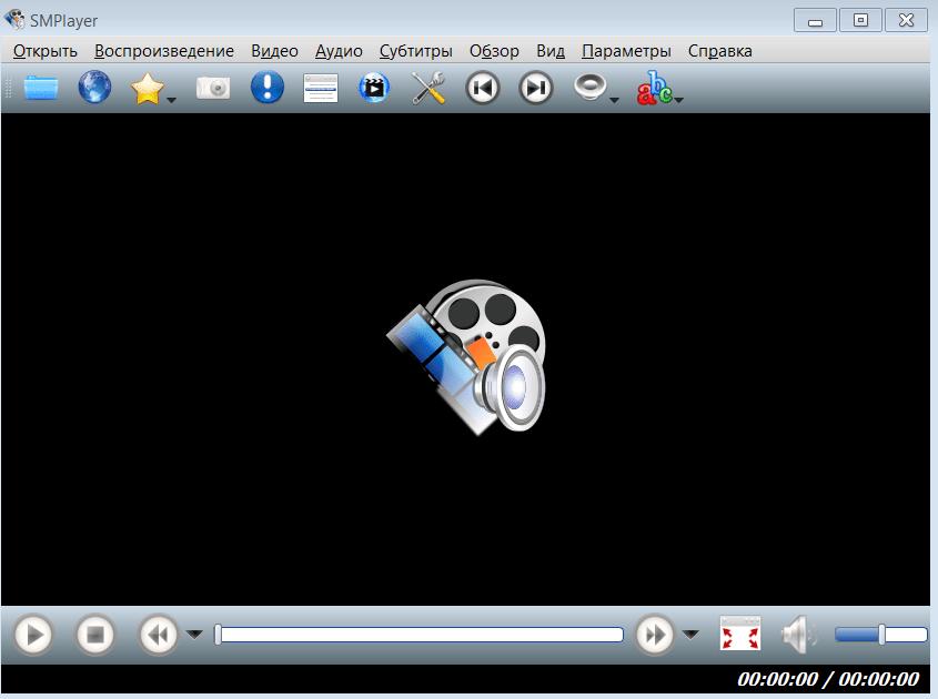 SMPlayer Начало работы