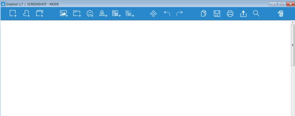Sniptool Окно редактора