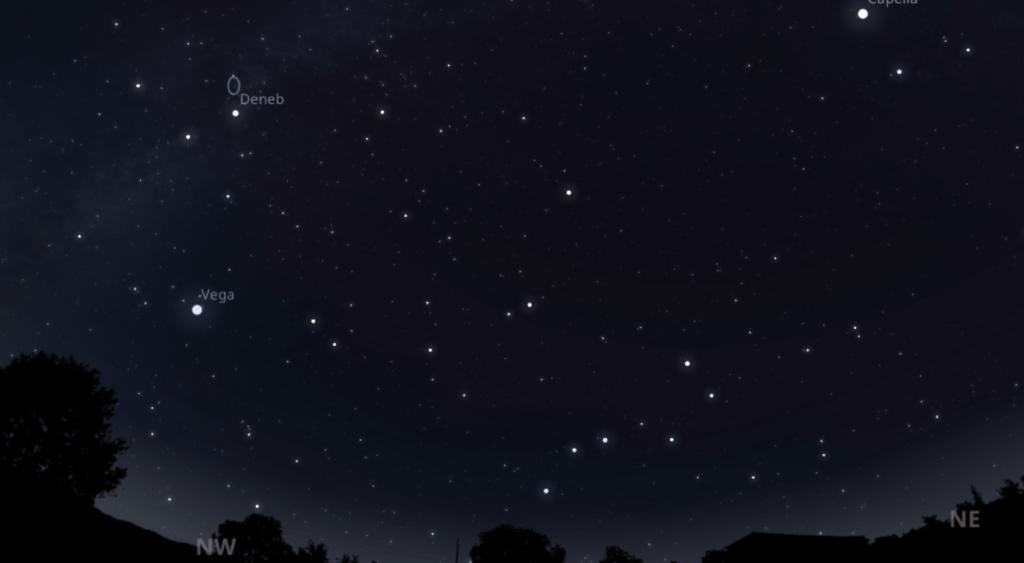 Stellarium Главное меню