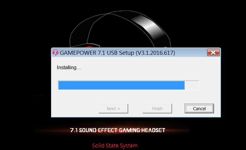 Sven Gaming Headset Начало установки