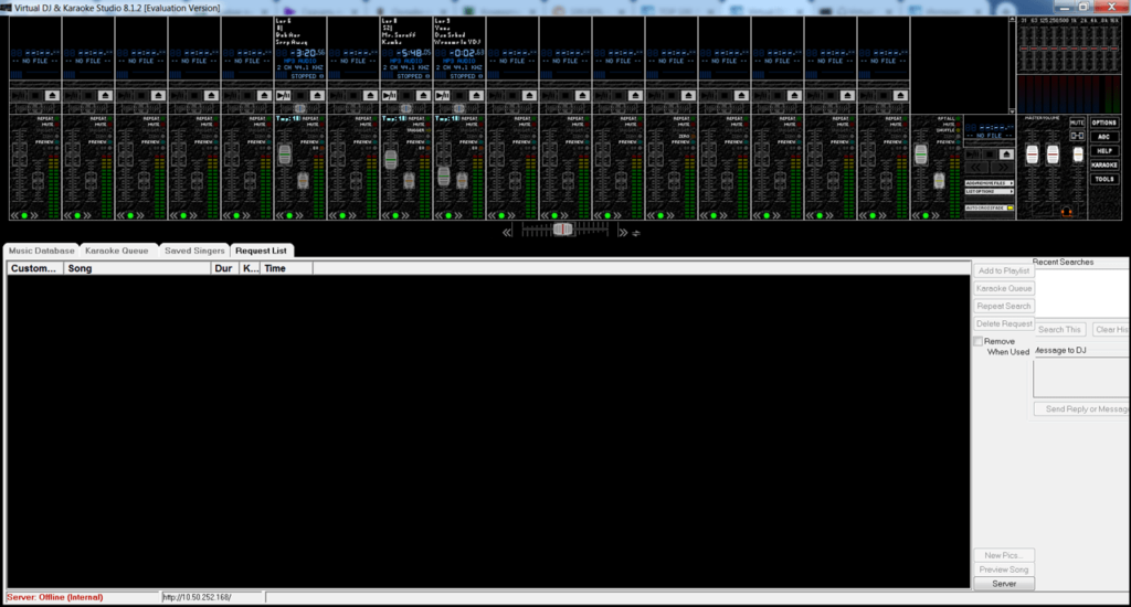 Virtual DJ Studio Пульт