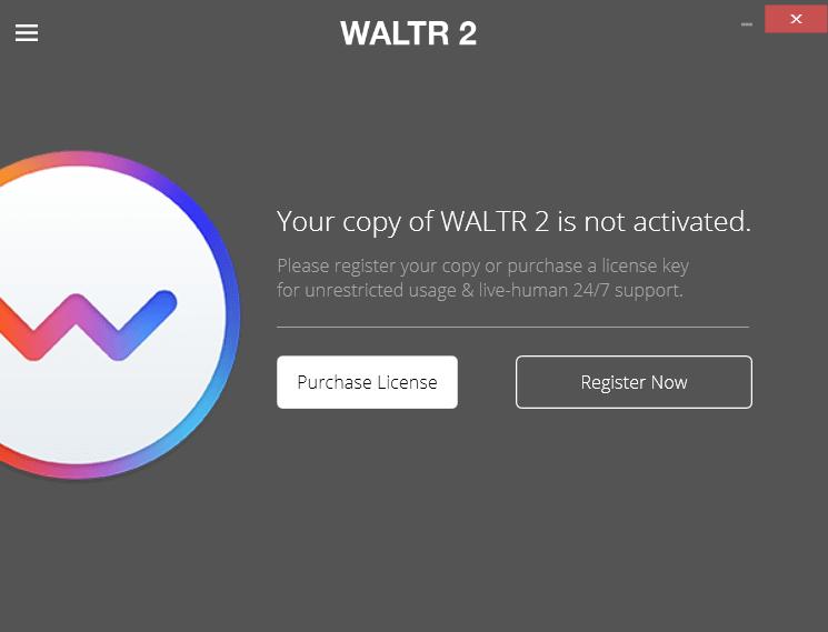 Waltr 2 Активация программы