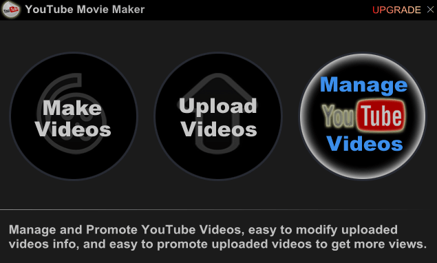 YouTube Movie Maker Начало работы