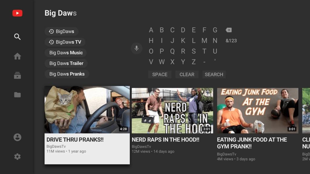 YouTube Поиск