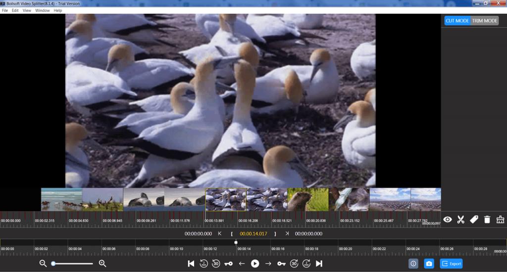 Boilsoft Video Splitter Редактор