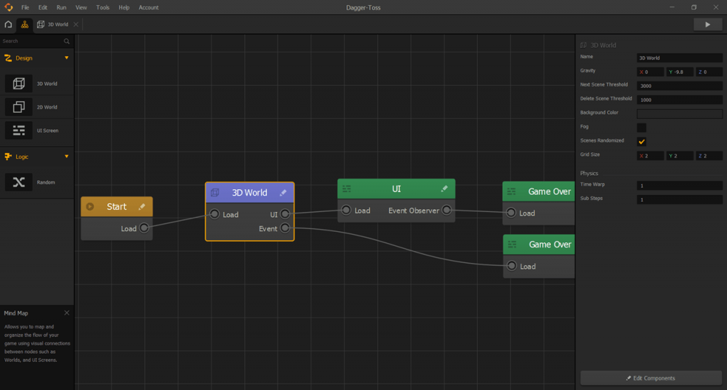 Buildbox Схема