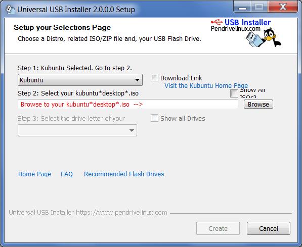 Universal USB Запись