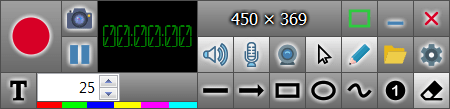 ZD Soft Screen Recorder Управление