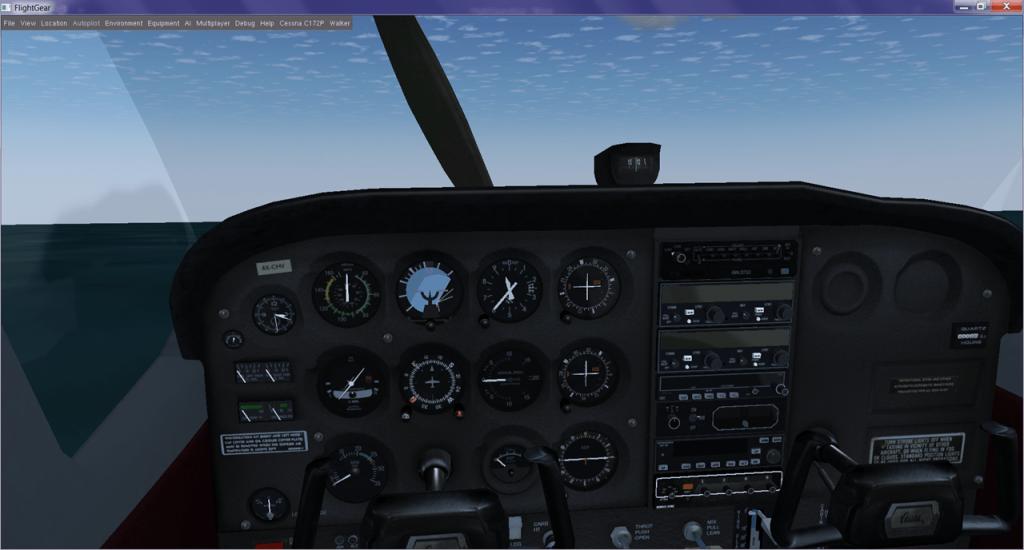 FlightGear Управление