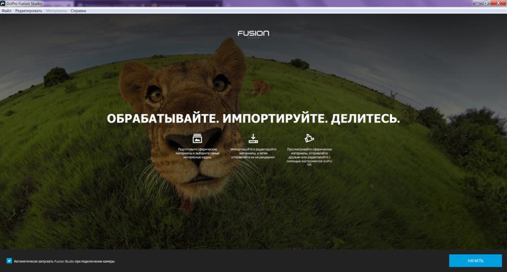 Fusion Studio Главная
