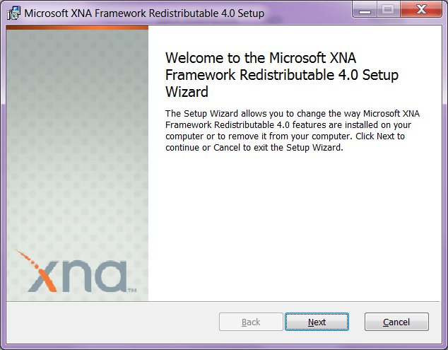 XNA Framework Начало